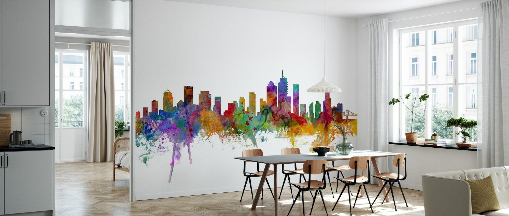 Brisbanen Skyline - Tapetti - Keittiö