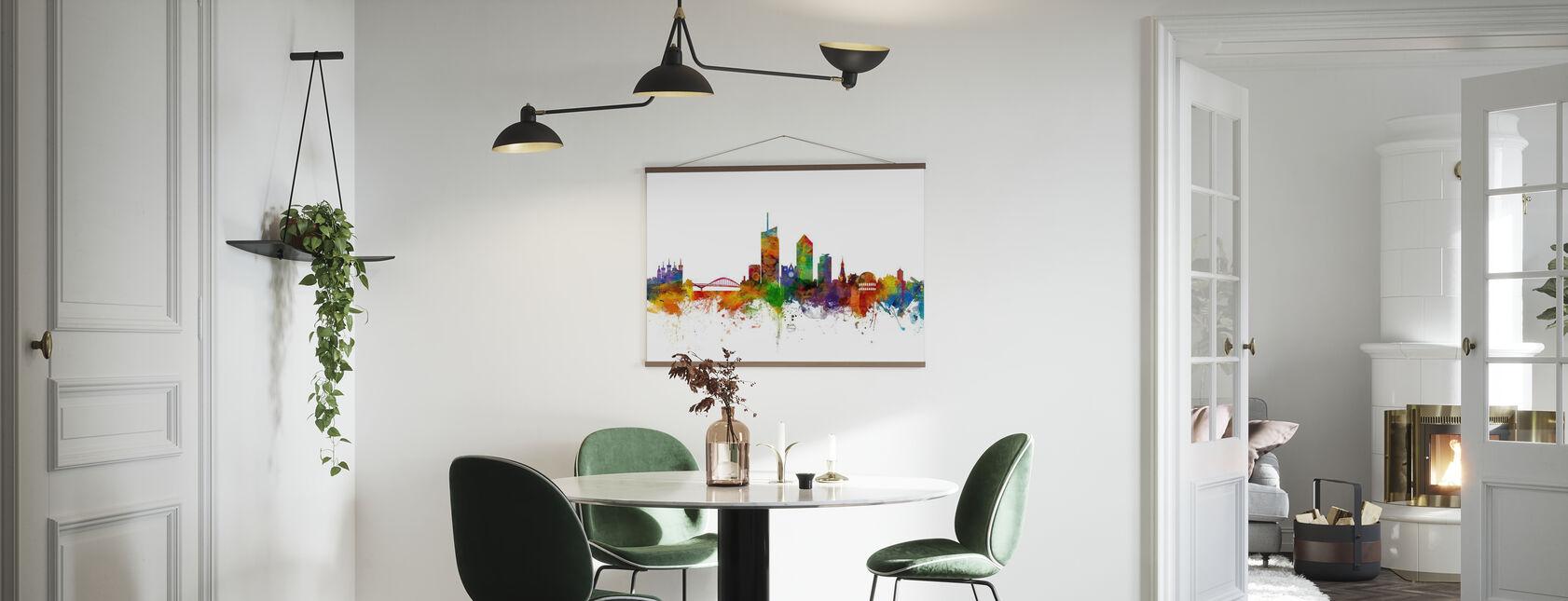 Skyline de Lyon - Affiche - Cuisine