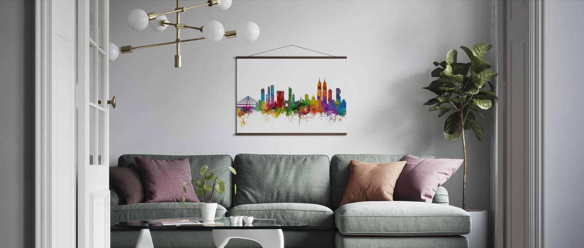 Mumbai (Bombay) Skyline - Poster - Living Room