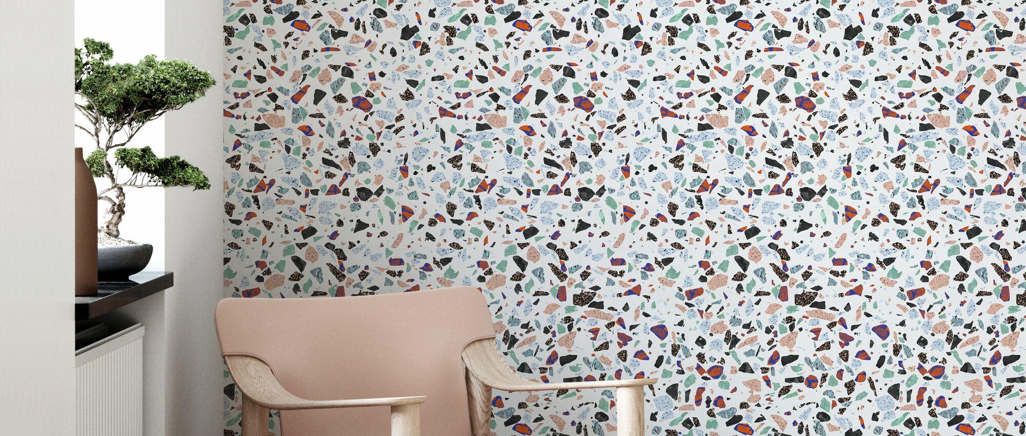 Holy Granite - Wallpaper - Living Room