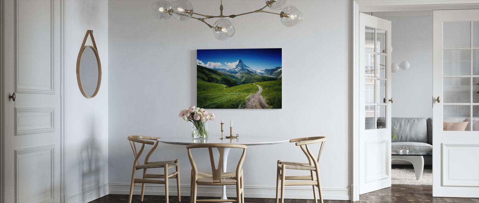 Matterhorn II - Canvas print - Kitchen