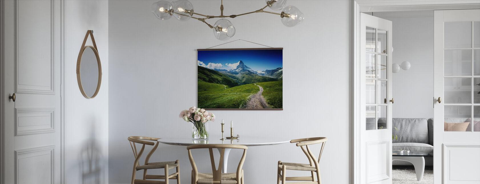 Matterhorn II - Poster - Keuken