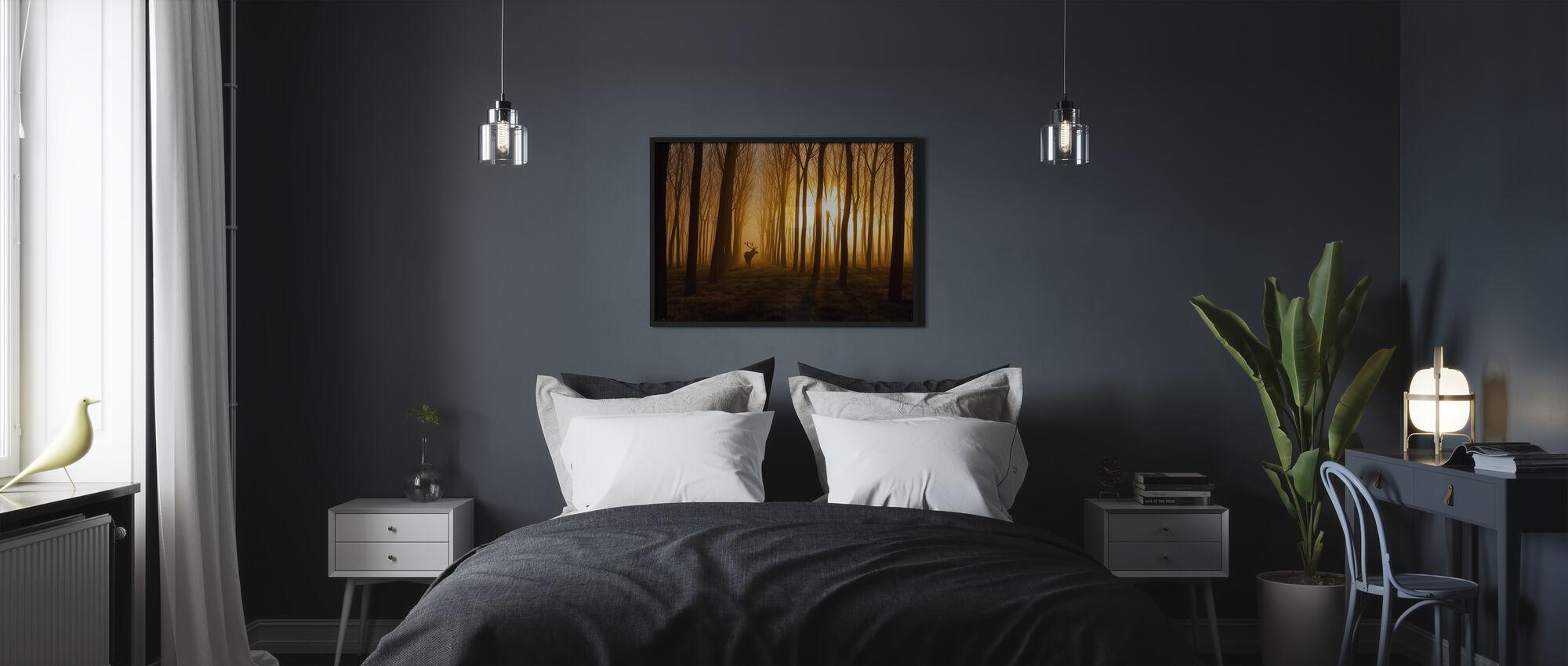 Olipa kerran - Kehystetty kuva - Makuuhuone