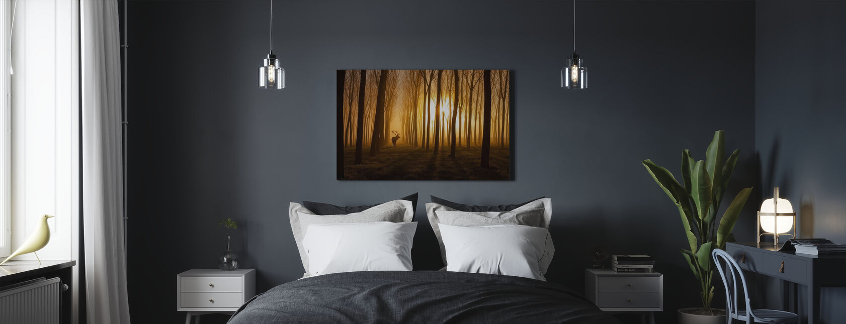 Once upon a time - Canvas print - Slaapkamer
