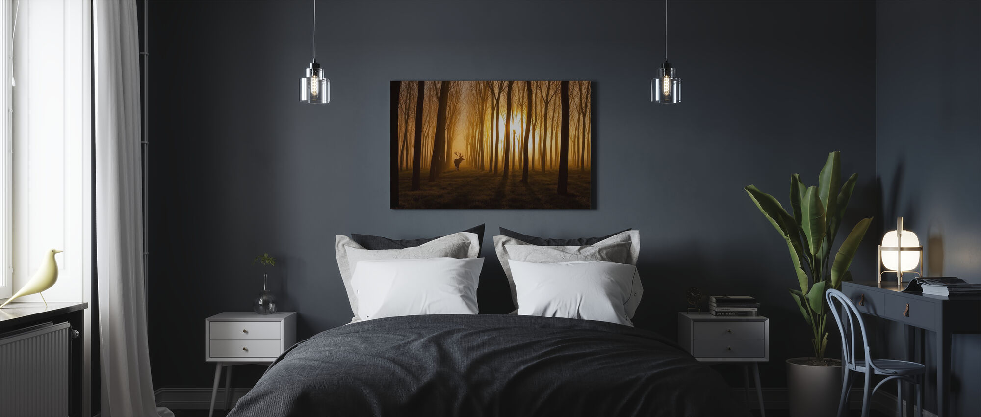 Once Upon a Time - Canvas print - Bedroom