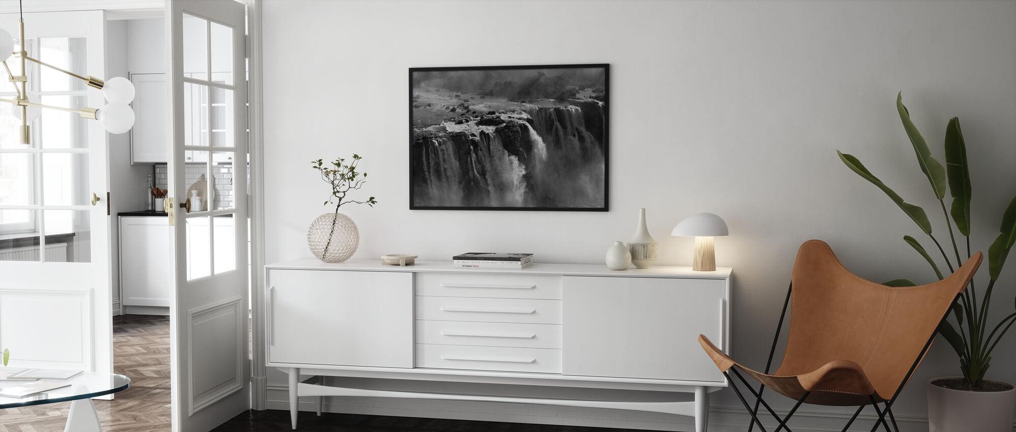 Demonstration of Power - Framed print - Living Room