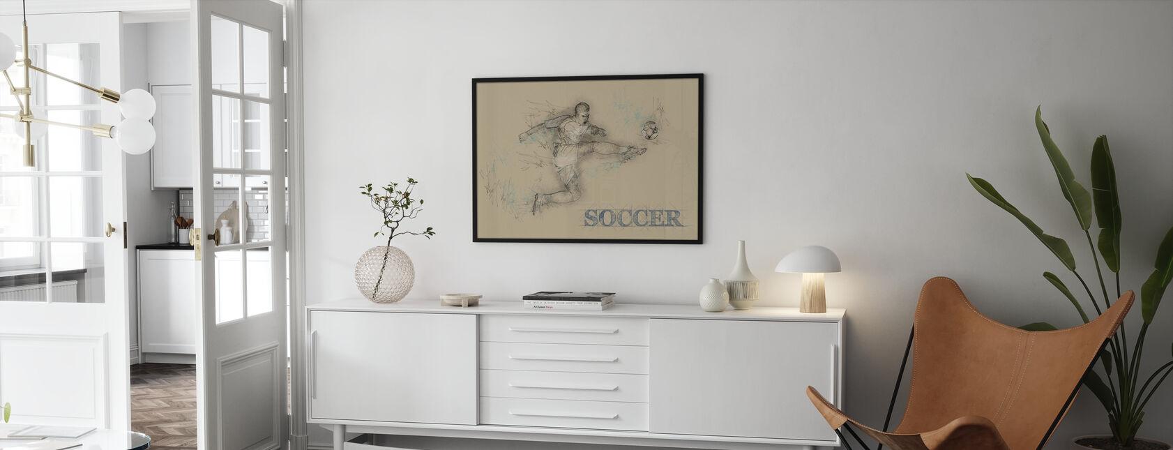 Soccer - Framed print - Living Room