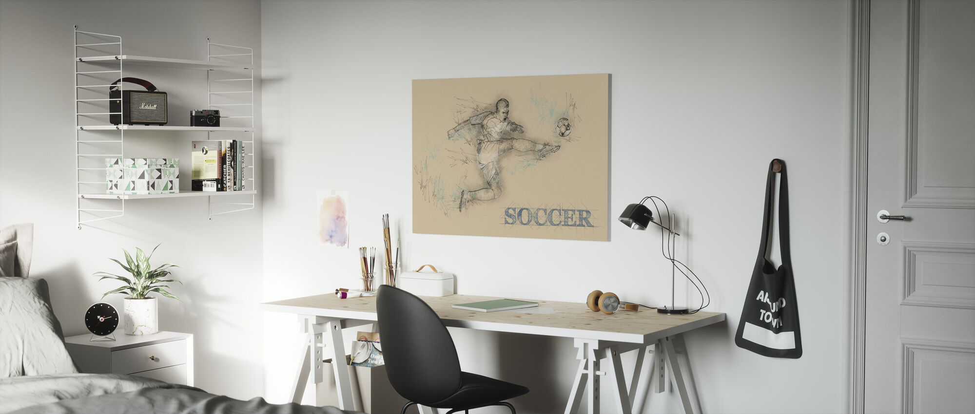 Soccer - Canvas print - Kids Room