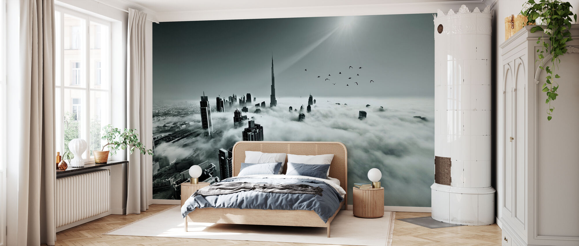 Up up and Above - Wallpaper - Bedroom
