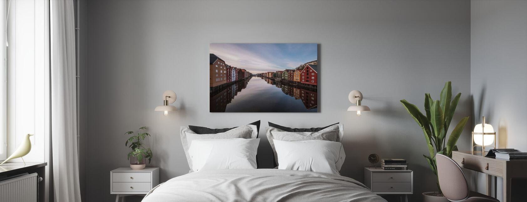 Trondheim, Norwegen - Leinwandbild - Schlafzimmer