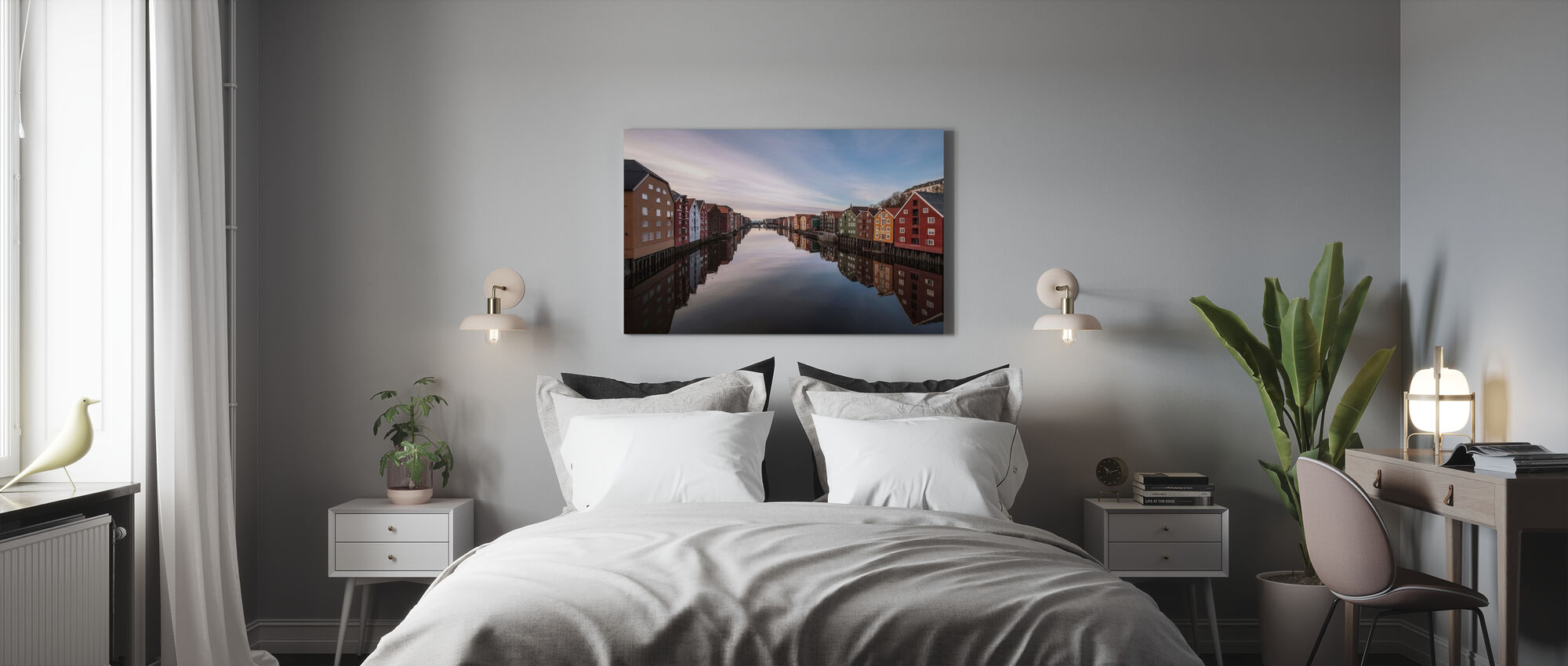 Trondheim, Norway - Canvas print - Bedroom