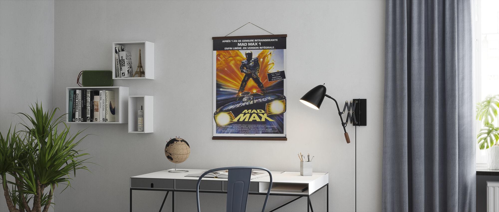 Franse film Poster Mad Max - Poster - Kantoor