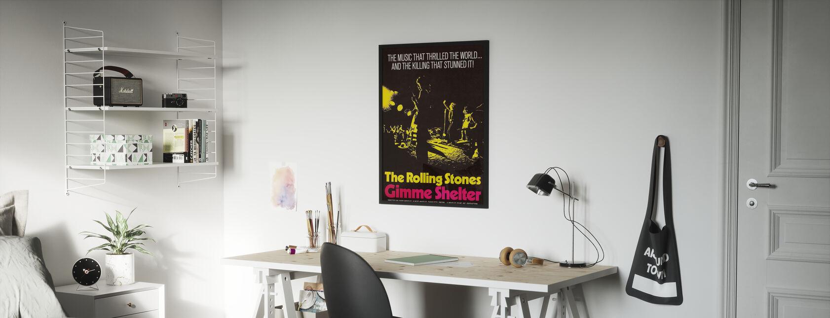 Gimme Shelter Poster Art - Poster - Kinderkamer
