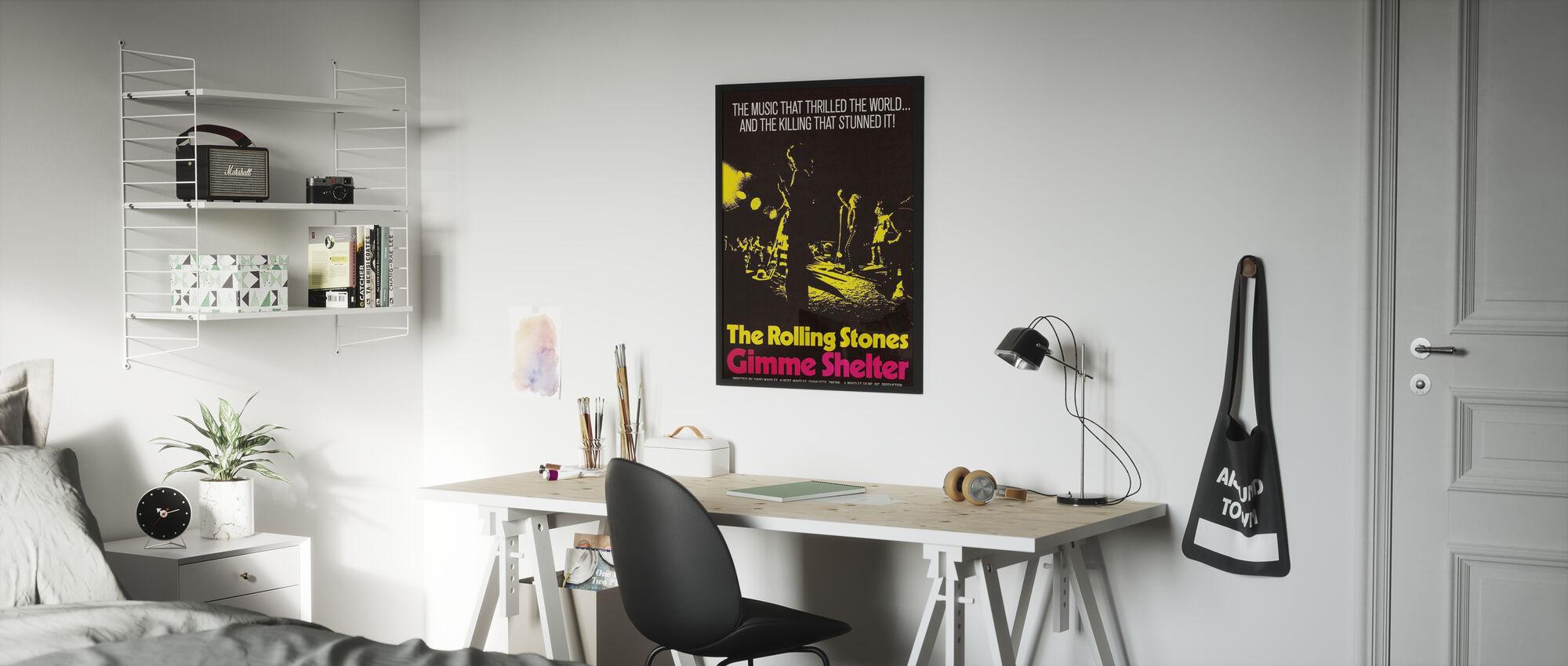 Gimme Shelter Poster Art - Poster - Kids Room
