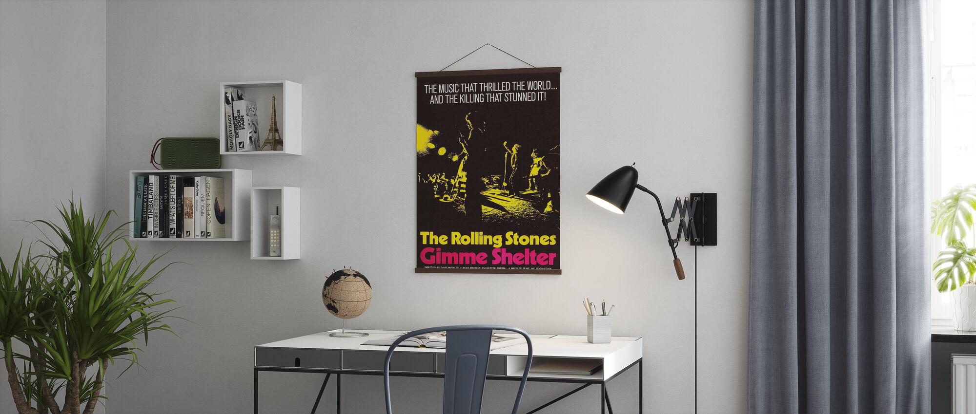 Gimme Shelter Poster Art - Poster - Kantoor