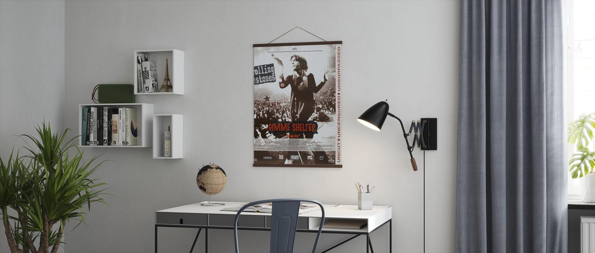 Gimme schuilplaats - Poster - Kantoor