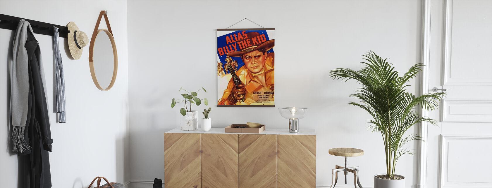 Poster del film Alias Billy the Kid - Poster - Sala