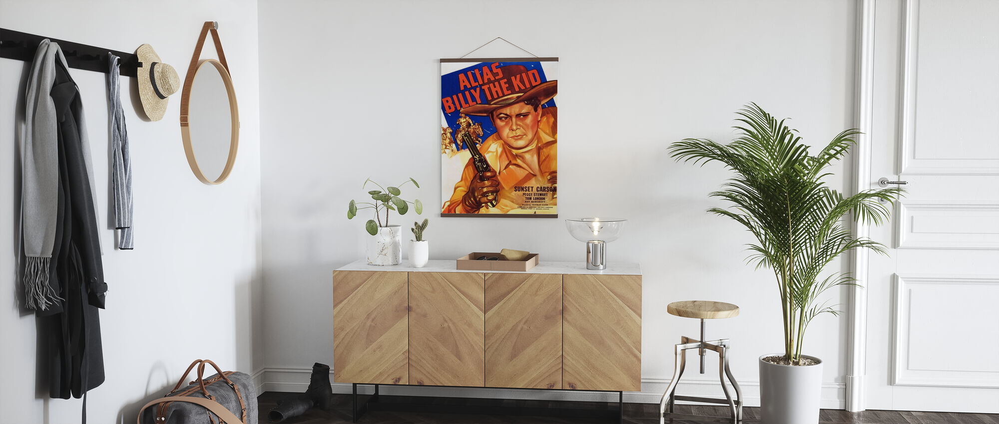 Movie Poster Alias Billy the Kid - Poster - Hallway