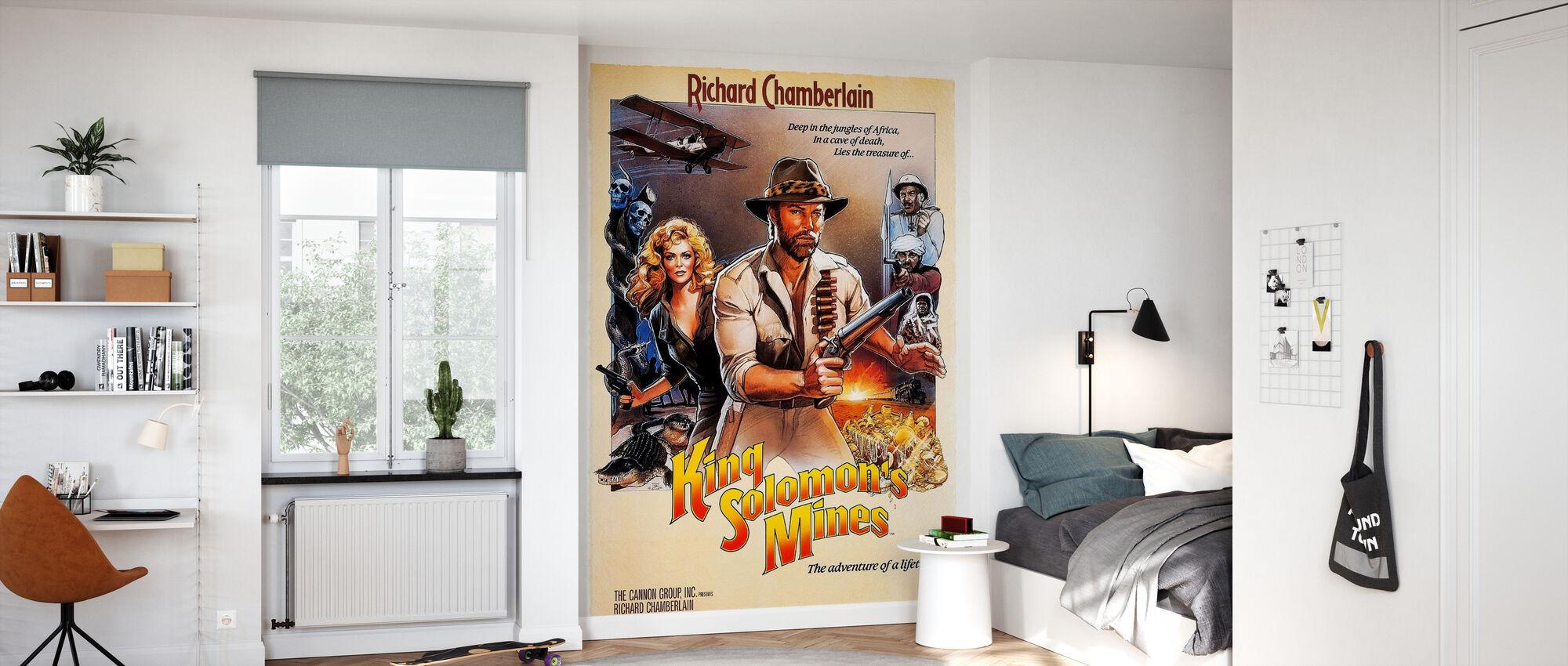 Movie Poster King Solomon´s Mines - Wallpaper - Kids Room