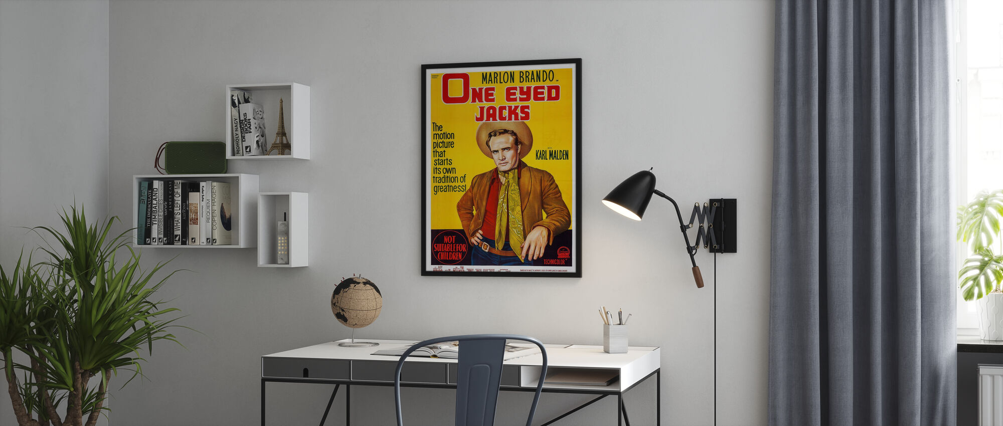 Movie Poster One Eyed Jacks - Poster - Office