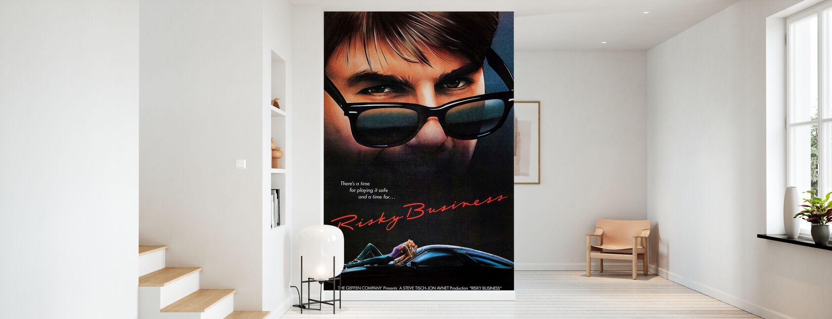 Film plakat risikabelt Business - Tapet - Gang