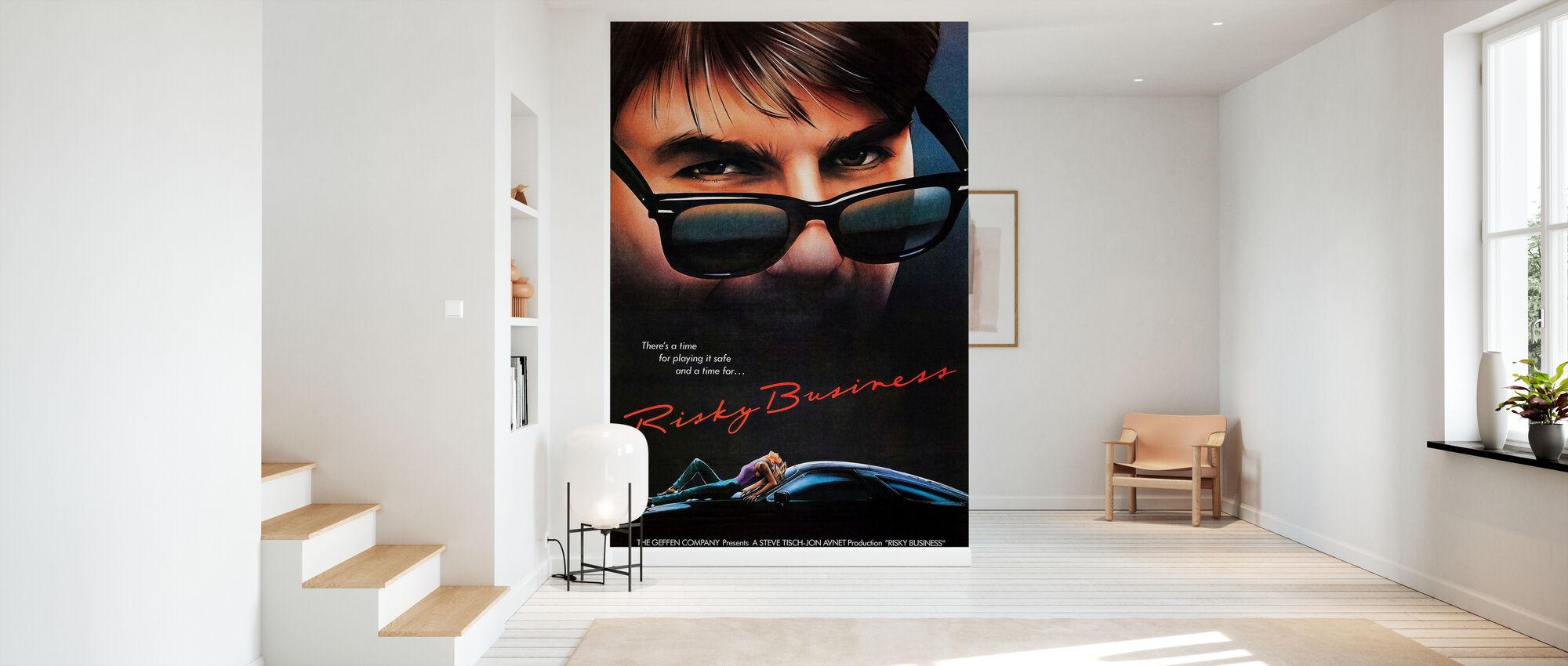 Movie Poster Risky Business - Wallpaper - Hallway