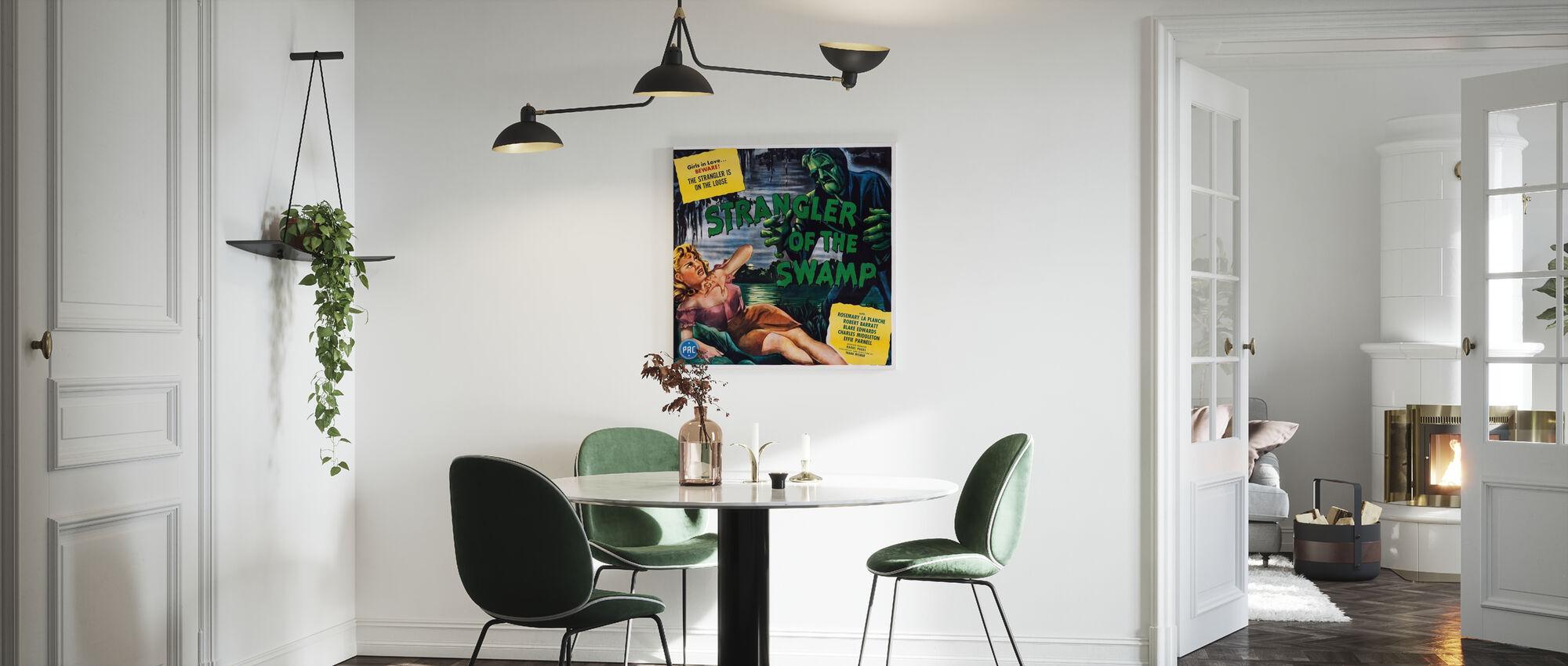 Movie Poster Strangler of the Swamp - Canvas print - Kitchen