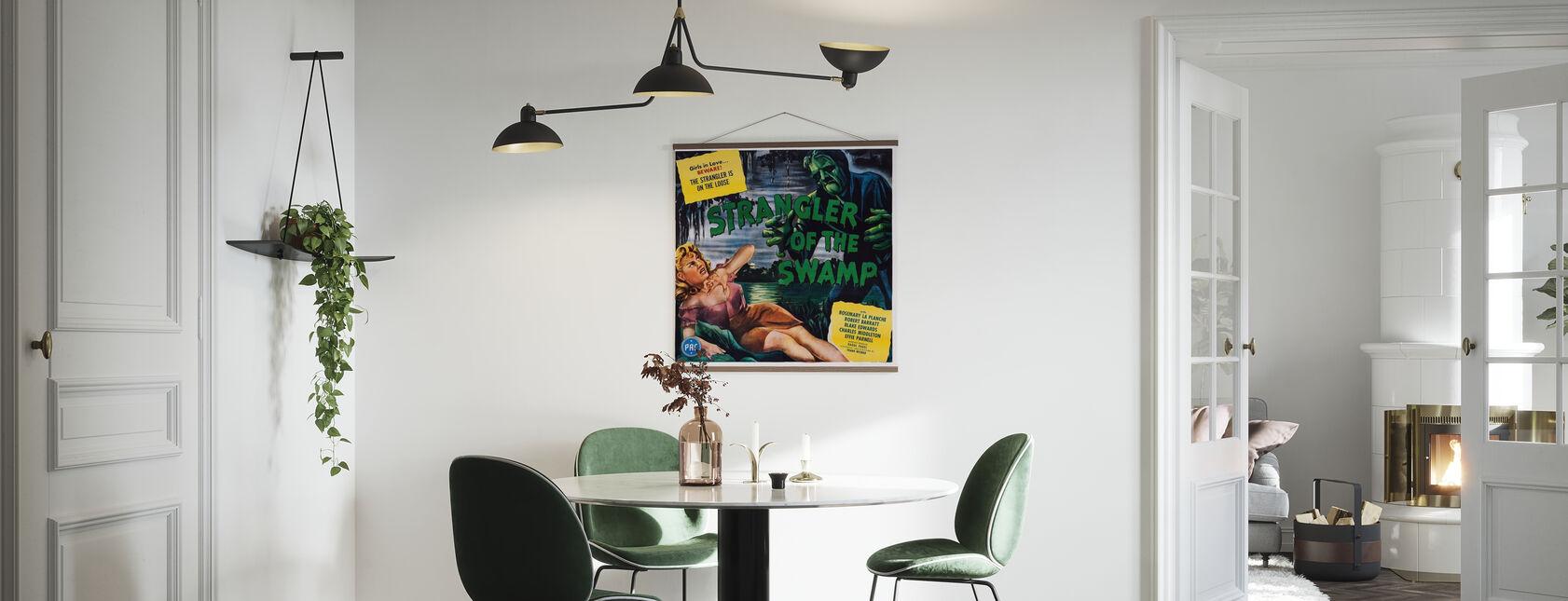 Movie Poster Strangler of the Swamp - Poster - Kitchen