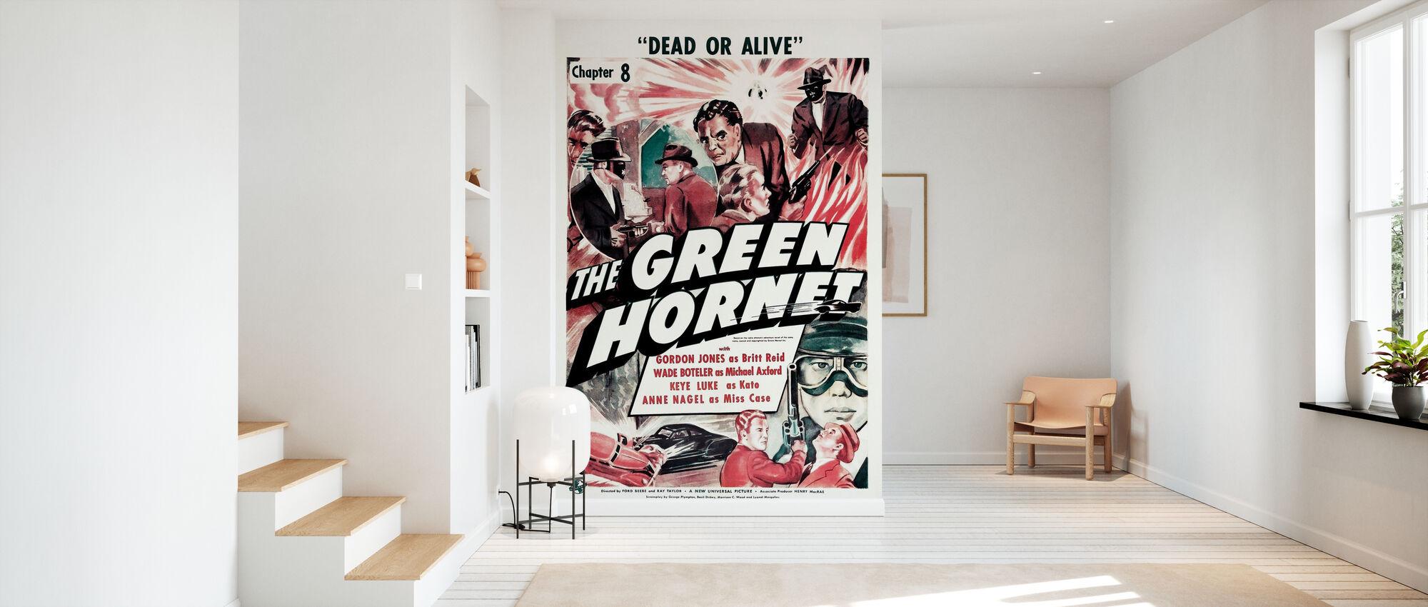 Affiche de film Le frelon vert - Papier peint - Entrée