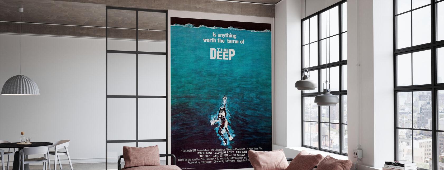 Filmposter The Terror of The Deep - Tapete - Büro