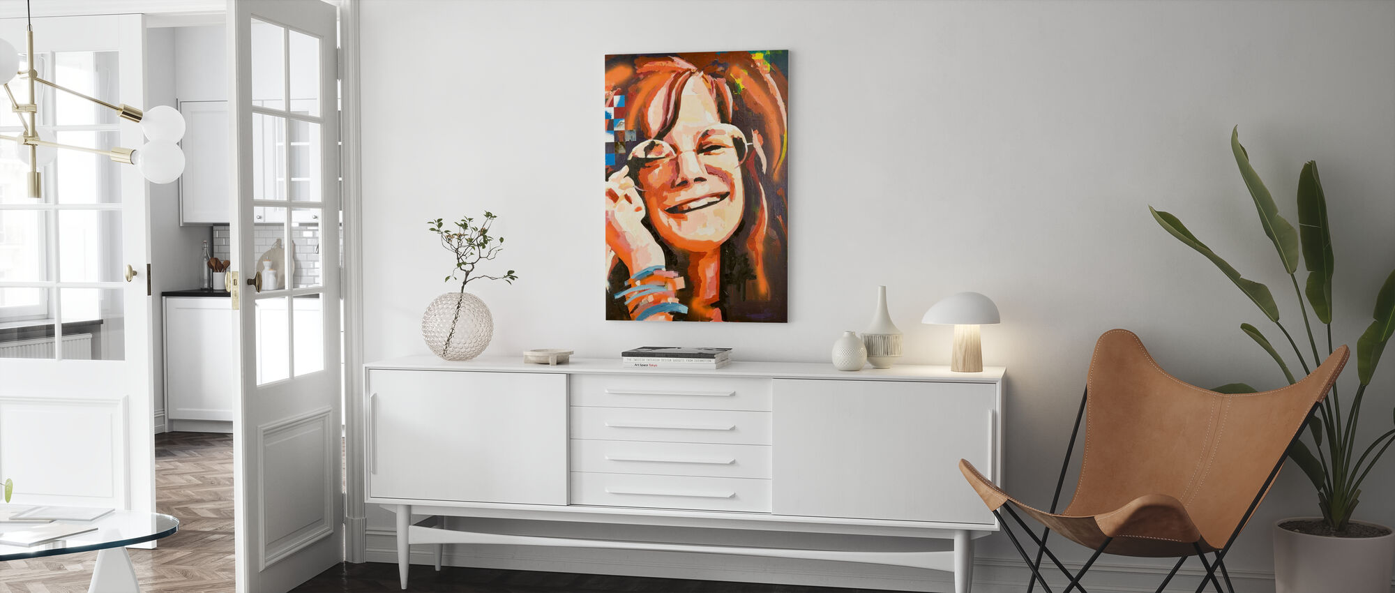 Mrs Woodstock - Canvas print - Living Room