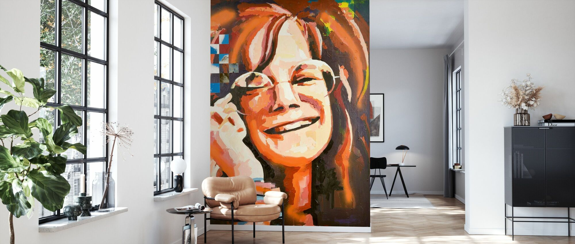 Fru Woodstock - Tapet - Stue