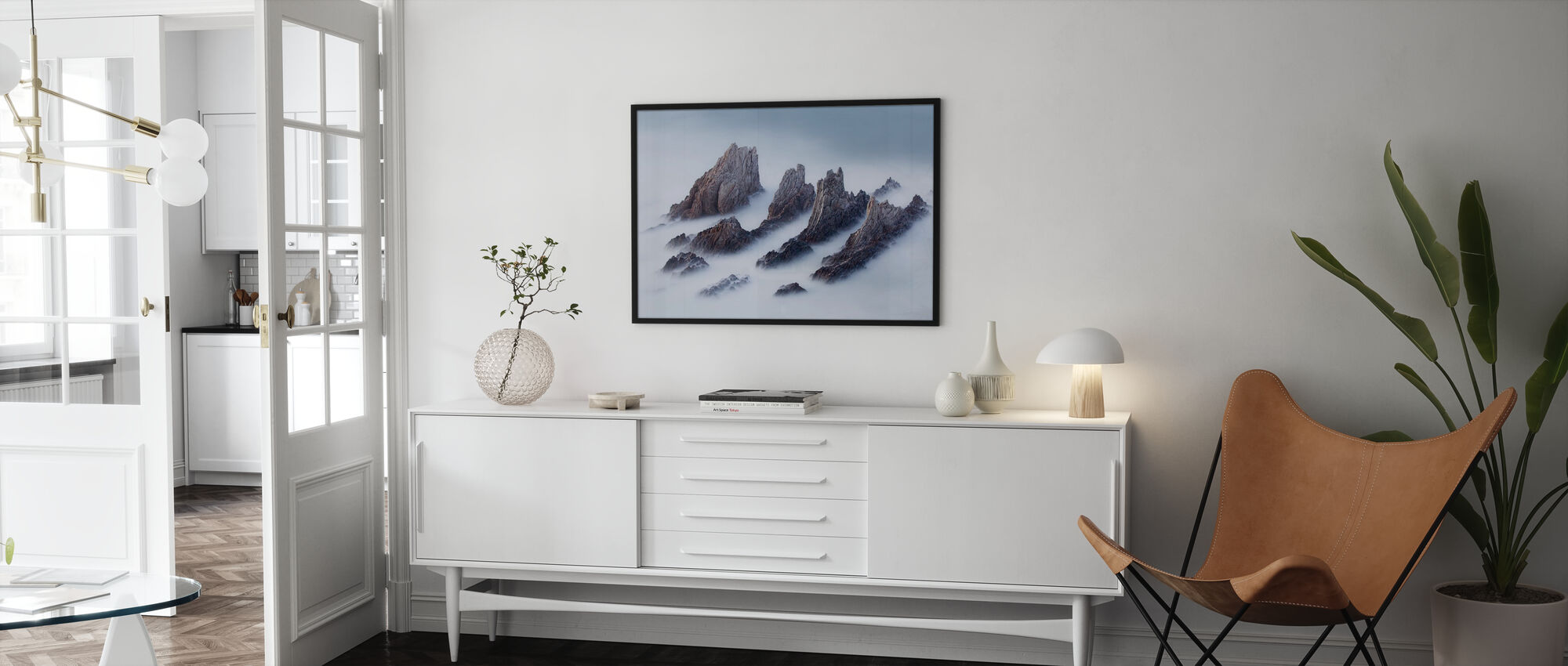 Crests and Valleys - Poster - Living Room