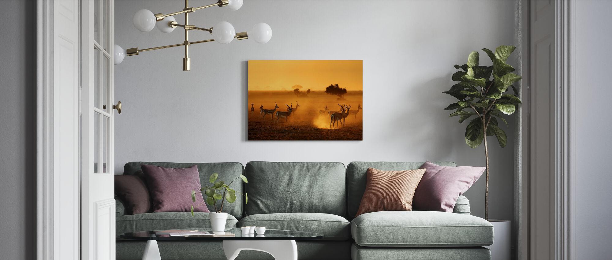 Sentinels - Canvas print - Living Room