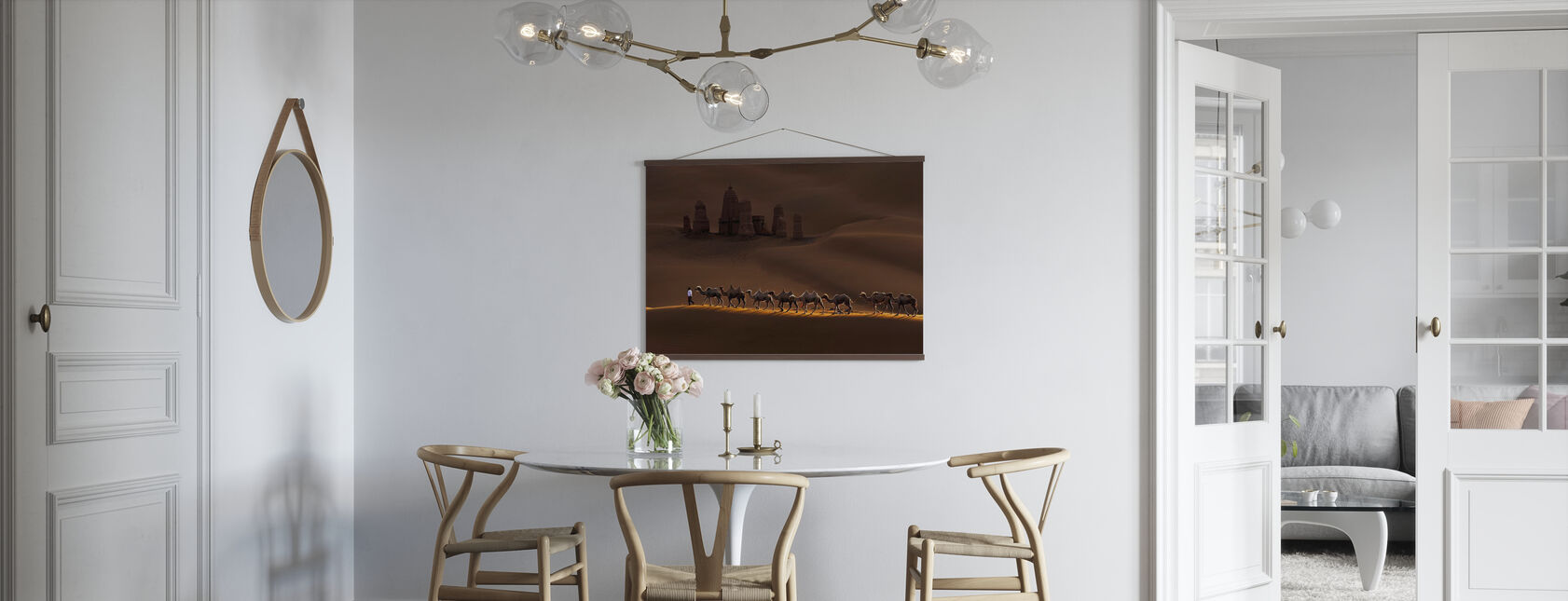Castle and Camels - Poster - Kitchen