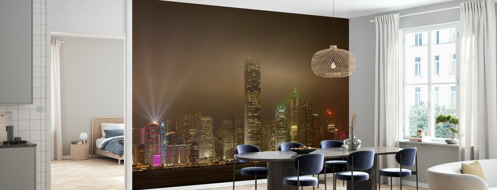 Hongkong Eiland - Behang - Keuken