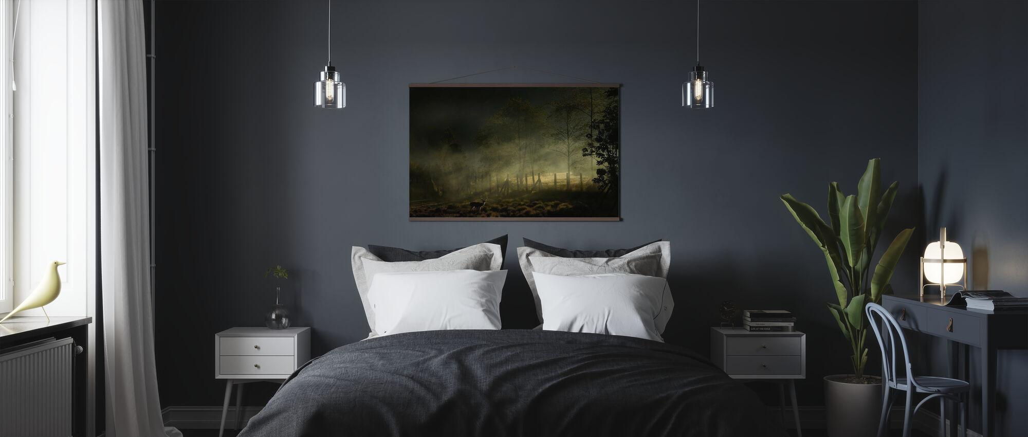 Misty Morning - Poster - Bedroom