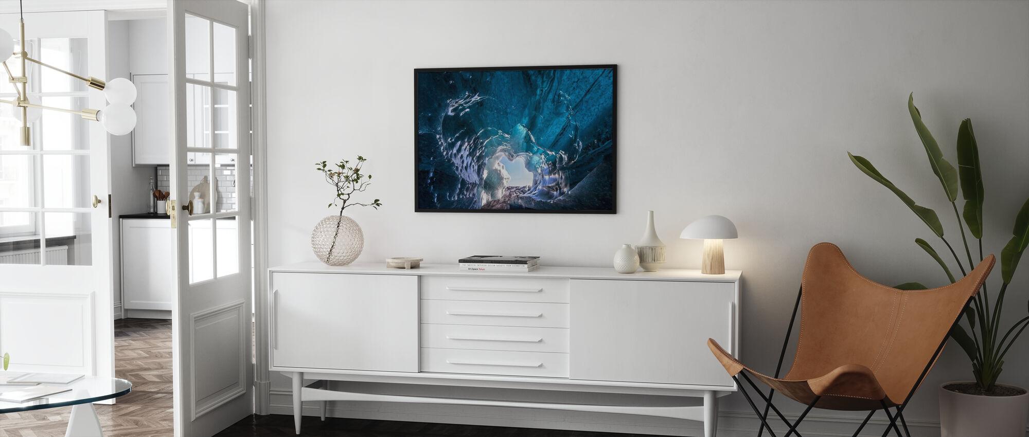 Outside World - Framed print - Living Room