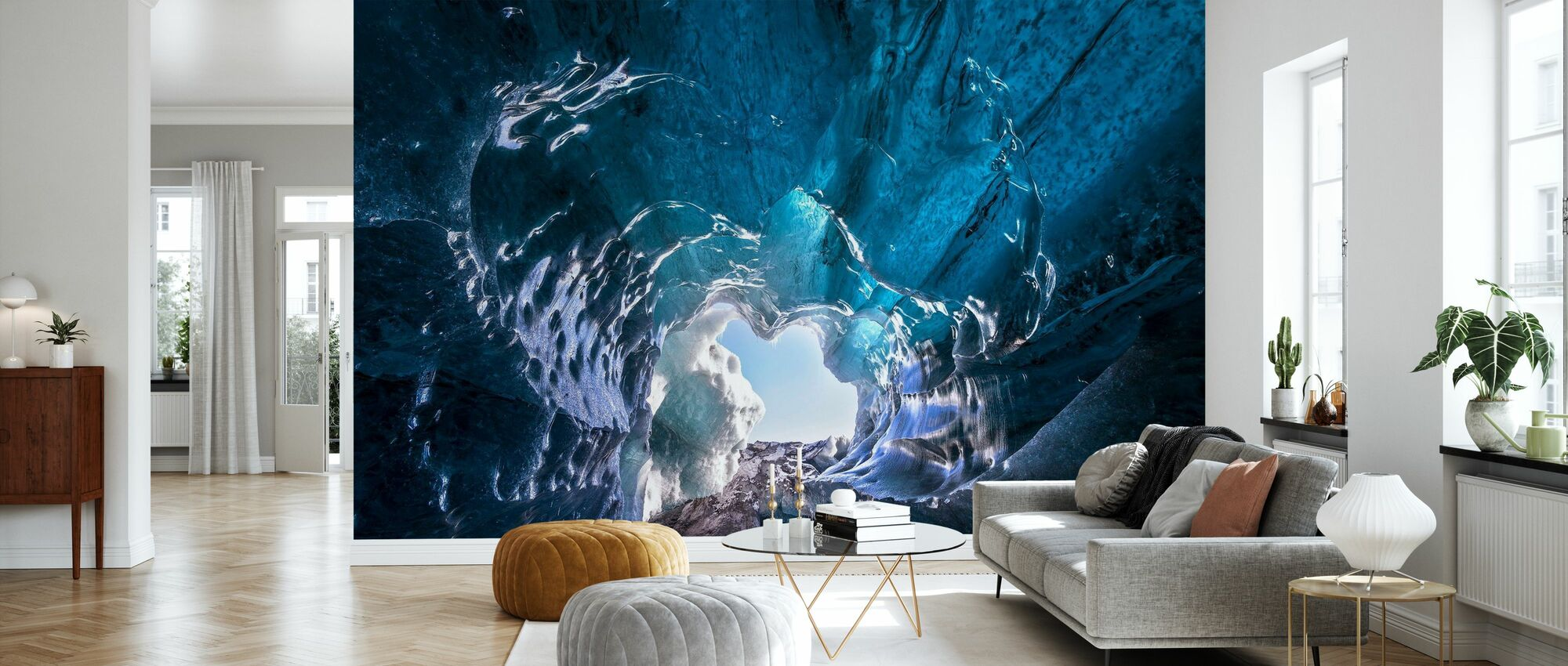 Outside World - Wallpaper - Living Room