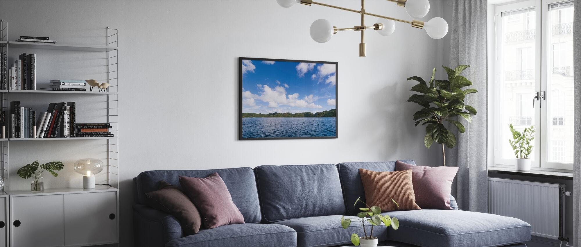 Bucas Grande Islets - Poster - Wohnzimmer