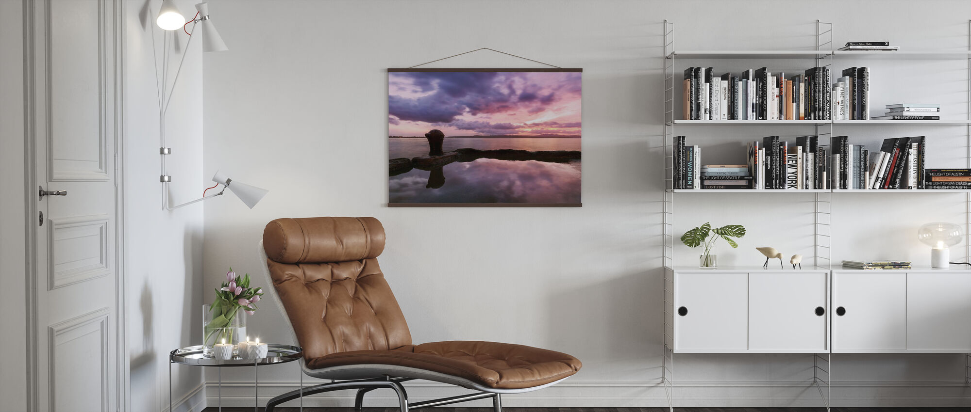 Colorful Sunrise in Santa Davao - Poster - Living Room