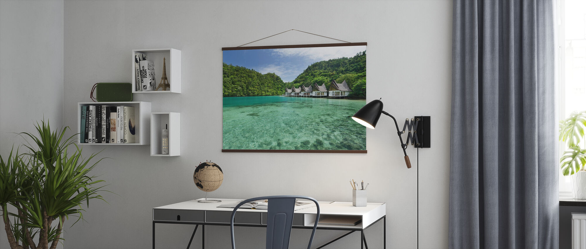 Lagune in Bucas Grande - Poster - Büro