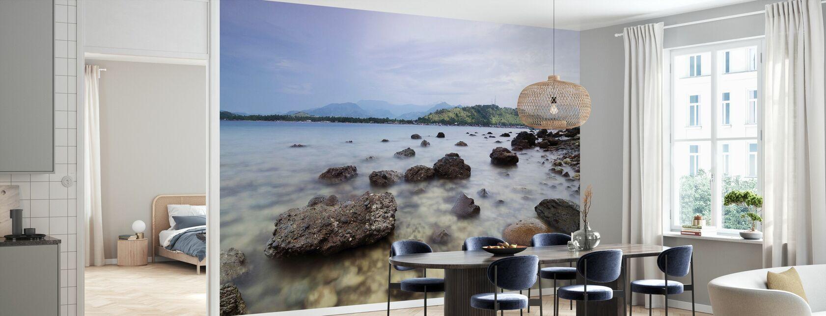 Rocks in Tibanban Island - Wallpaper - Kitchen