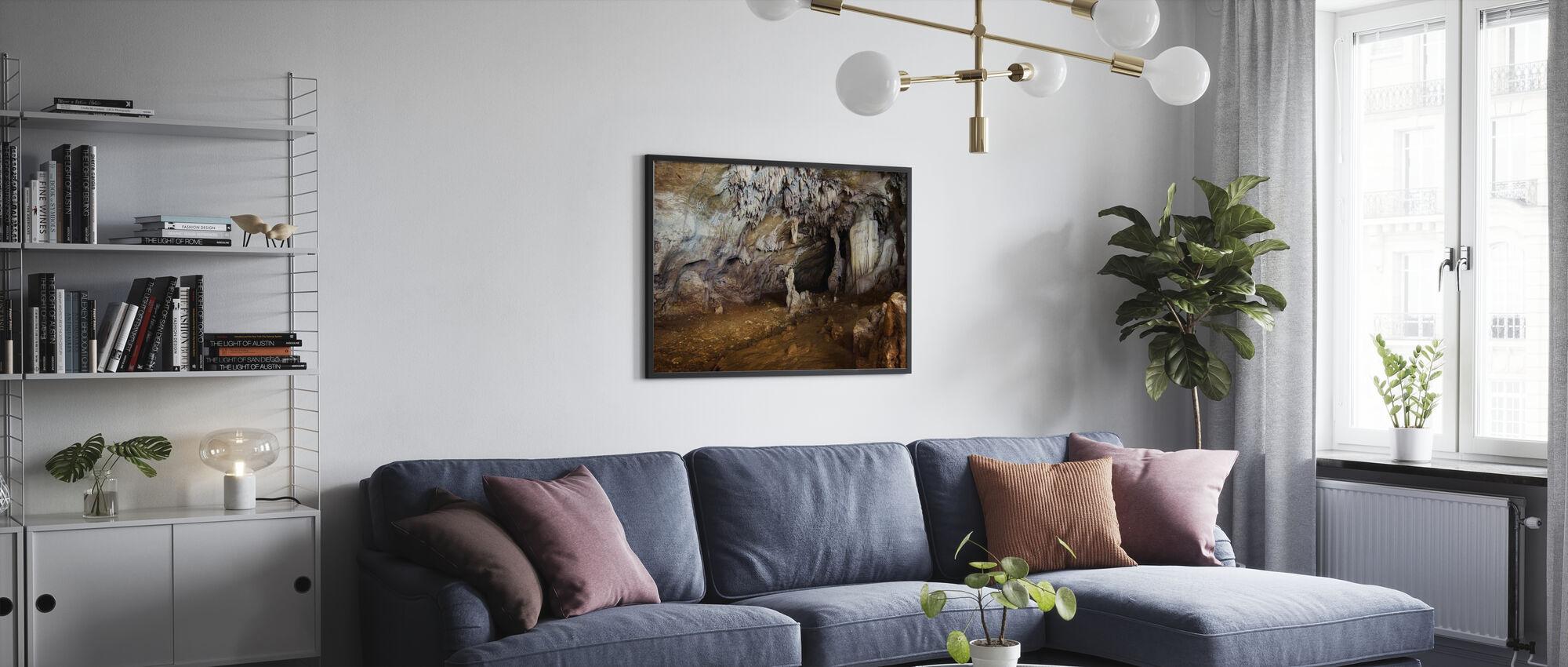 Sohoton Cave - Framed print - Living Room