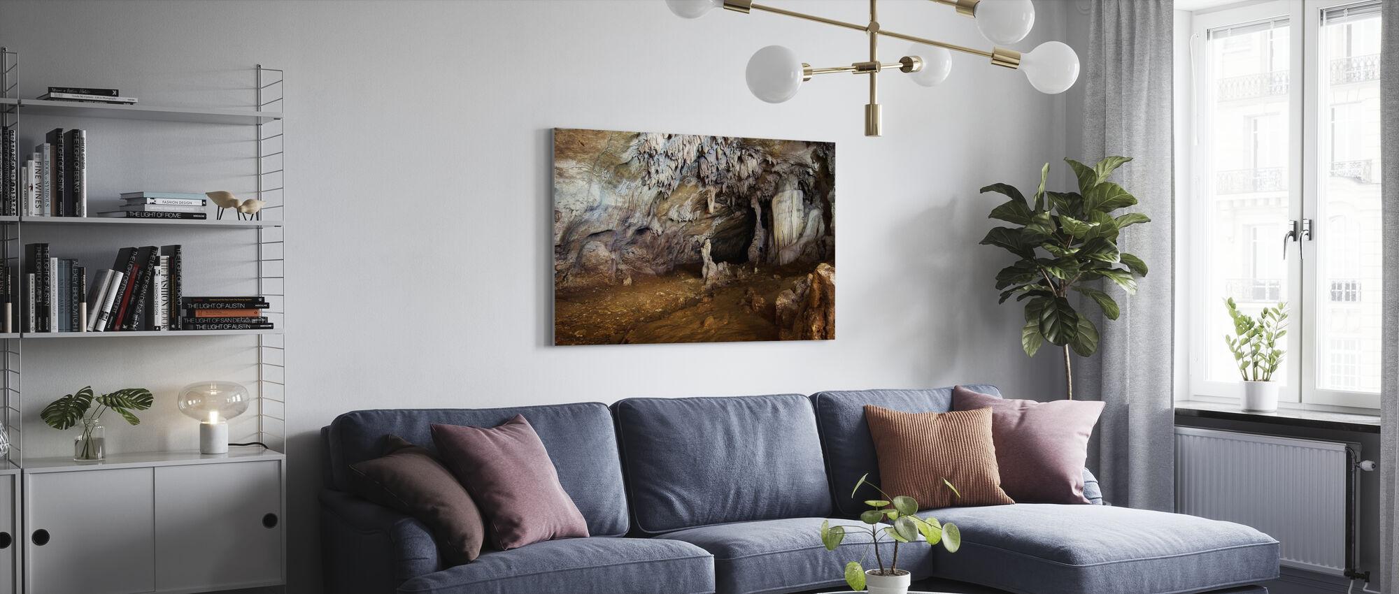 Sohoton Höhle - Leinwandbild - Wohnzimmer