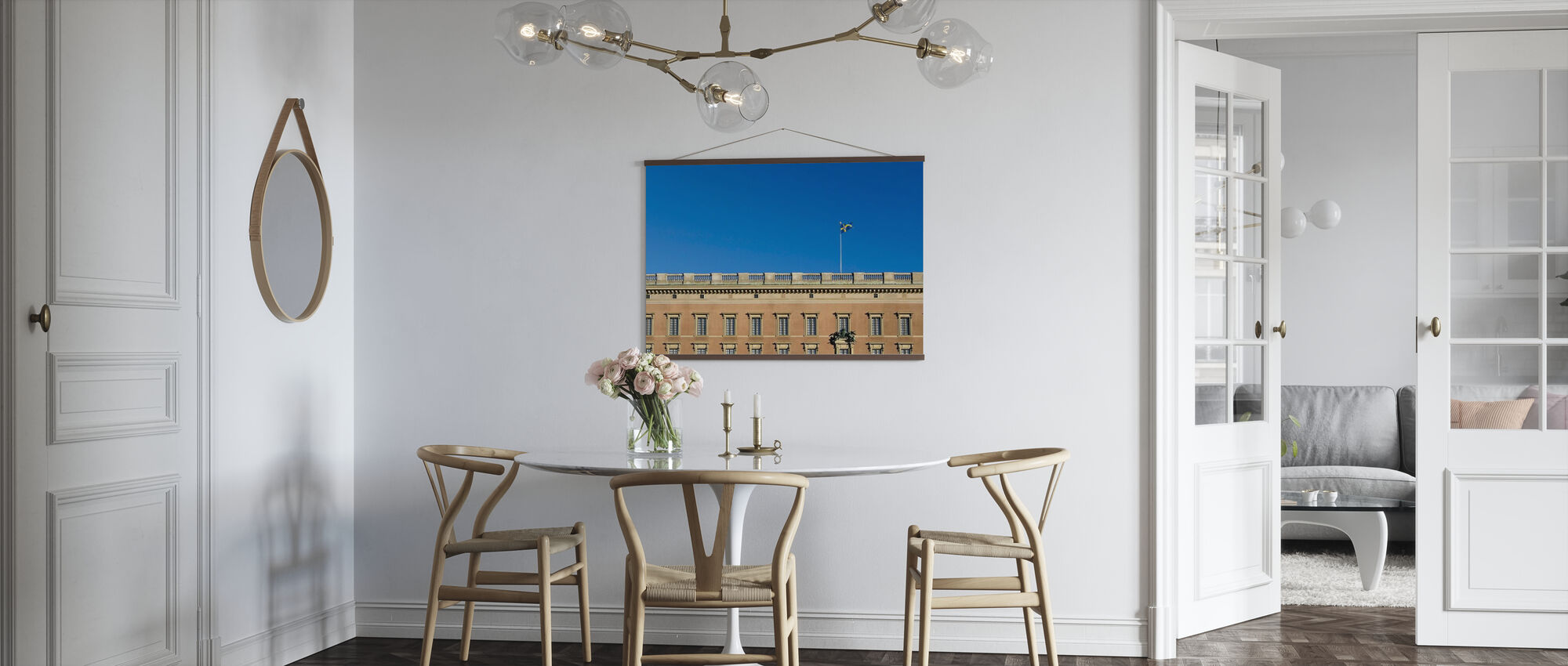 Detaljer om Stockholms palass - Plakat - Kjøkken