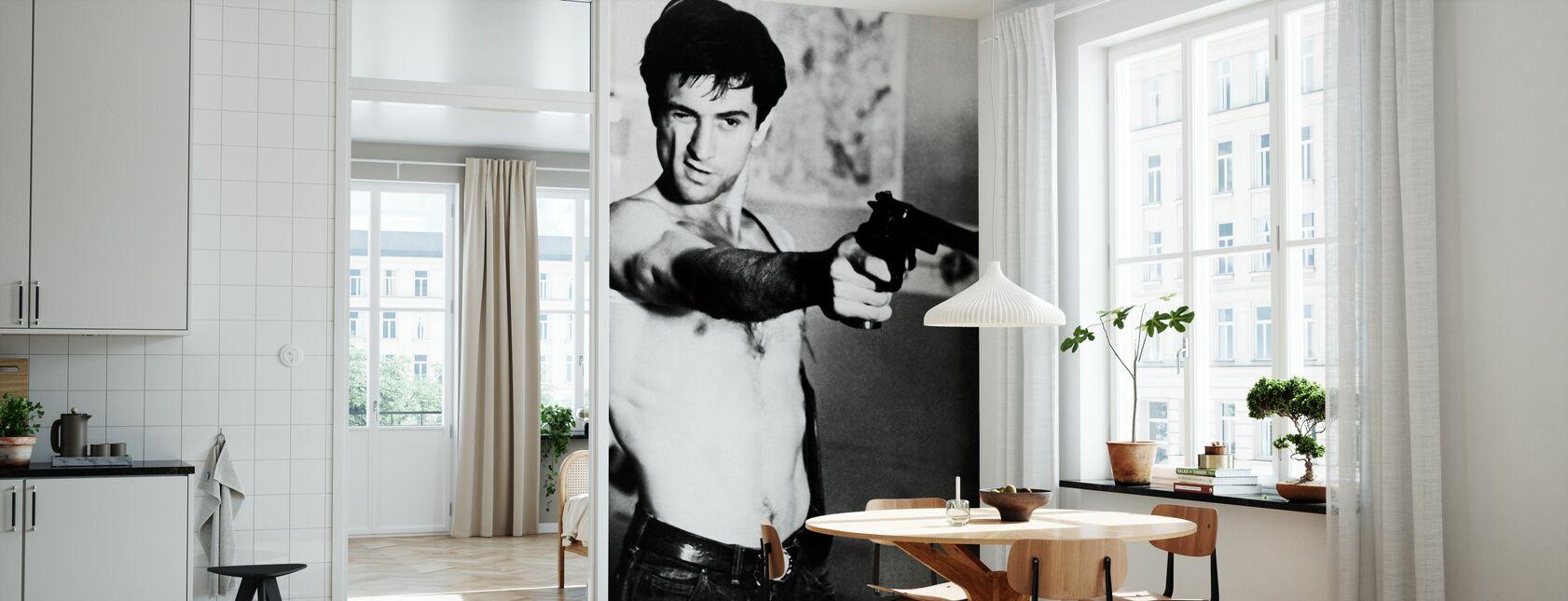 Taxi Driver - Gun - Wallpaper - Kitchen