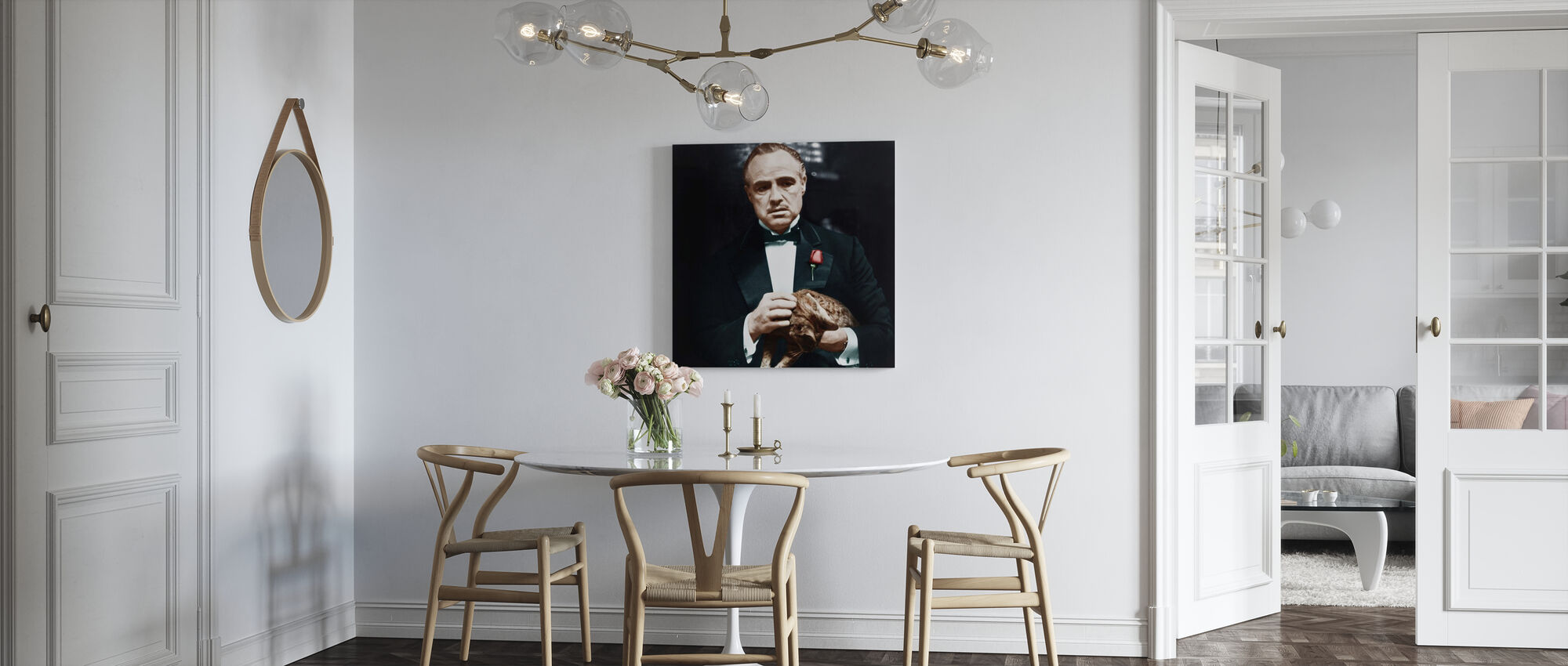 The Godfather - Cat - Canvas print - Kitchen