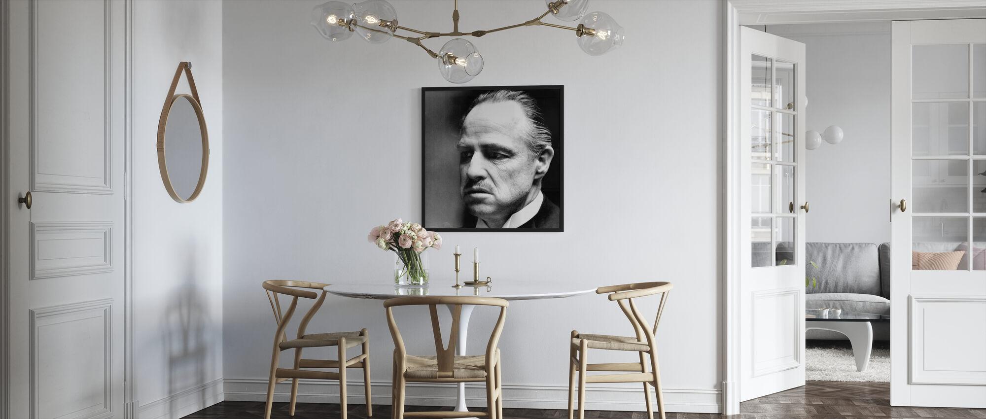 De peetvader - Don Vito Corleone - Poster - Keuken