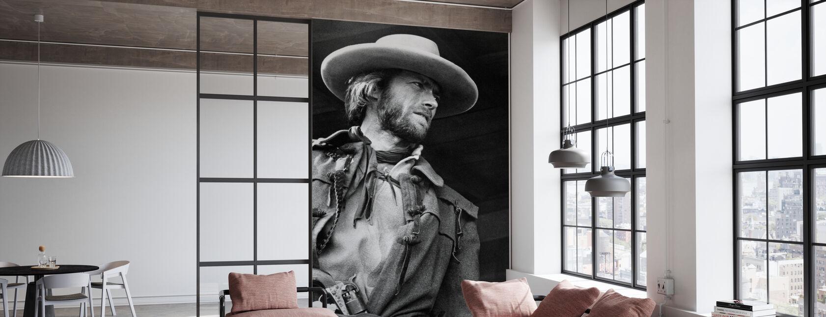 The Outlaw Josey Wales - Graustufen - Tapete - Büro